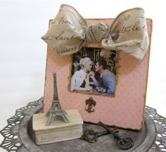 Kiss Me  In Paris Pink Shabby Chic French Market by ShopOnALark