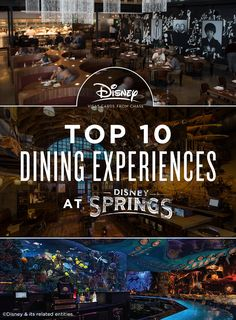 The beloved Walt Disney World® Resort shopping and dining district, Downtown…