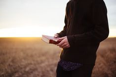 A field, a man, a book