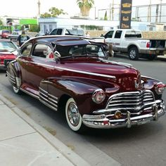 Gilbert Garibay's #1946 #‎Chevy Fleetline restored to it's original stance excluding color
