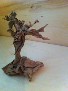 Paper Habitats 101 - Part 1 - Fairy Dust Teaching Fairy Dust Teaching, The Paper Bag, 3d Tree, Character And Setting, Spring Art, Cute Crafts, Autumn Leaves, Art Lessons, Habitats
