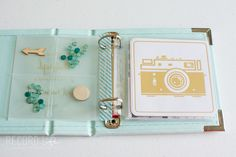 Mini Album | Start of My Favorite Things 4x4 WRMK Instagram Album — Mandy Elliott | Turquoise Avenue using We R Memory Keepers and Teresa Collins designs. Find more Project Life inspiration at www.turquoiseave.com