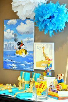 Golden Books baby shower... super cute ideas