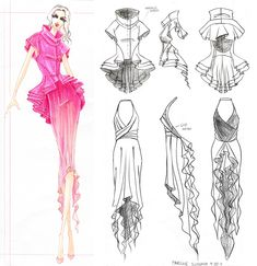images of meister fashion design & illustration copic marker prisma ink wallpaper