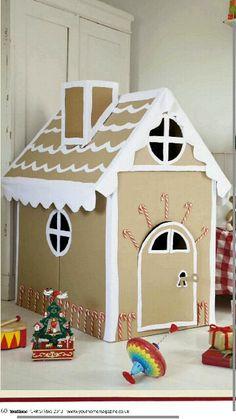 Cute Christmas house for kids