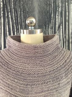Portland Pullover by Carrie Bostick Hoge, knitted by spudmuffinxx | malabrigo Rios in Pearl