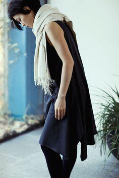 Jurgenlehl etc, Jurgen Lehl and Babaghuri Official blog | Babaghuri: Sleeveless Dress Made of Thick Cotton Jersey