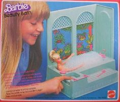 I loved this!  It had a pump so you could make lots of bubbles, and this teeny little pink plastic bar of soap.