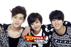 Woo Hyun, Seung Yeon, and Ji Woo from Kpop Extreme Survival