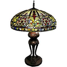 Tiffany-style Classic Table Lamp