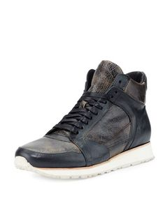 d967cc2b61870 315 Mid Leather Trainer Sneaker
