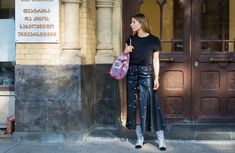 The Best Street Style From Fashion Week Tbilisi Spring '18  Vogue Runway