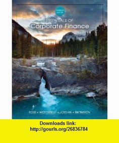 Beau brannen 101fazb on pinterest essentials of corporate finance 6th edition 9780070956551 bradford jordan isbn fandeluxe Image collections