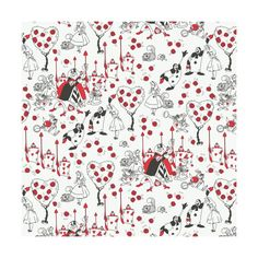 This listing is for Disneys Alice in Wonderland Painting The Roses Red on White from Camelot Fabrics Alice in Wonderland Collection.  100% Cotton  Choose Your Cut:  Fat Quarter.....18x21/22 1/4 Yard..........9 x 43/44 1/2 Yard..........18 x 43/44 3/4 Yard..........27 x 43/44 1 Yard.............36 x 43/44 - Multiple yards cut as ONE continuous piece.  LIKE us on Facebook for Fabric Specials & Giveaways: www.Facebook.com/StitchStashDiva  IMPORTAN...
