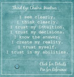 Third Eye Chakra; What it is and how to heal it with food mantras crystals and essential oils » Vannasana
