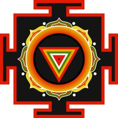 Kali Yantra. For thousands of years, yantras have been used in the Tantric tradition as visual metaphors for the body of the divine. As expressions of devotion and contemplation, they are similar to Tibetan mandalas in that meditation upon them is tantamount to returning to the primordial fiat of one's being. Because yantras are comprised of archetypal geometric forms and shapes, they are believed to offer liberation from bondage.