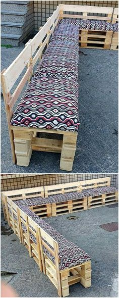 pallet patio giant corner couch