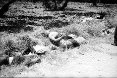 """Vi timas de los """"paseos"""" en la casa de Campo. Víctima se de los """"paseos"""" en las cunetas de la Casa de Campo.Madrid, agosto 1936."""