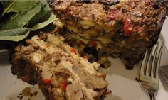 Roast Chicken And Grilled Eggplant Lasagna Recipe - A comforting twist ...