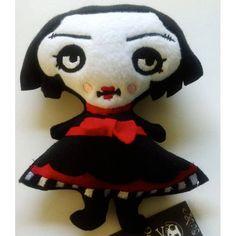 PLUSH Toy Pocket Full of Posiez (R) Lyllionia Embroidered Face. $22.00, via Etsy.