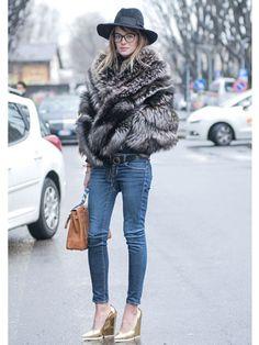 Street Style at Milan Fashion Week #MFW Fall 2013