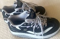 Leather Skechers Shape UPS Strength Black White Toning Shoes 11809 Womens 7 5 US | eBay