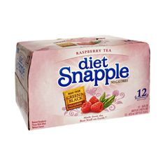I'm learning all about Snapple Diet No Calories Raspberry Tea - 12 PK at @Influenster!