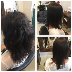 Cezanne Straightening is my new hero! Not only does it leave hair silky smooth and shiny, it gives my clients with natural frizz a chance to step out on humid days without fear! Results are gorgeous straight hair without the damage usually caused by chemical straightening, and without that awful sticky feeling of keratin.  #cezanne #straightening #hairdresser #surryhillshair #beautifulhair #autumnhair #sydneyhair #sydneyhairdresser #cezanneaustralia