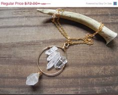 Hey, I found this really awesome Etsy listing at https://www.etsy.com/listing/104813112/40-off-sale-crystal-point-pendant