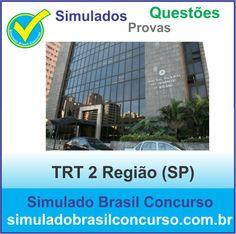 Boa noite Concurseiros, Aproveitem!!! Estamos com milhares de questões e simulados do concurso do TRT 2 Região (SP).  http://simuladobrasilconcurso.com.br/simulados/concursos  Descubra!!! Compartilhe!!! Curta!!!  Muito Obrigado e Bons Estudos, Simulado Brasil Concurso  #SimuladoBrasilConcurso, #SimuladoTRT