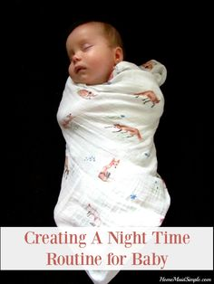 Need help creating a night time routine for your baby? Check out our routine and how it has helped both baby and mom get better sleep. Parenting Articles, Kids And Parenting, Parenting Hacks, Kids Activities At Home, First Time Parents, Pregnancy Information, Night Time Routine, Baby Hacks, Baby Tips