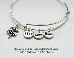 Alex and Ani Inspired Bracelet. RN Bracelet. by JewelryImpressions