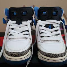 reputable site 574b5 380ec Jordan Shoes   Jordan Spizike   Color  Blue Gray   Size  7b