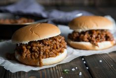 Extra Sloppy Joes Tvp Recipes, Ground Beef Recipes, Crockpot Recipes, Cooking Recipes, Snacks Recipes, Apple Recipes, Veggie Recipes, Cake Recipes, Beef Dishes