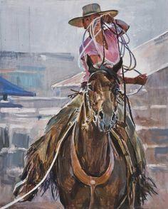 """New Rope, Old Day"" - Originals - All Artwork | Sophy Brown"