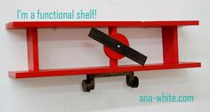 Just a plane old shelf diy by ana white