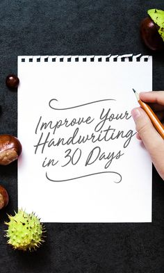 Handwriting is something that's all too tempting to fall by the wayside today, as more people are obsessed with the digital. Fancy Handwriting, Improve Your Handwriting, Handwriting Practice, Handwriting Styles, Handwriting Worksheets, Handwriting Template, Beautiful Handwriting, Blogging, Handwriting Analysis
