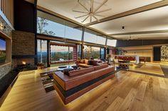 Luxury Queensland Home – custom made living room furniture. Designer is Mark Gacesa of Ultraspace. Interiors by Minka Joinery www.minkajoinery.com.au
