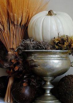 Beautiful autumn decor