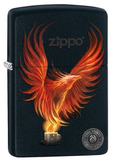 """Zippo """"anne Stokes-Firebird"""" Black Matte Lighter, Full Size, 8227 FOR SALE • £24.00 • See Photos! Money Back Guarantee. PLEASE READ ENTIRE LISTING AS IMPORTANT INFO ADDED!! BRAND NEW AND BOXED. I LEAVE POSITIVE FEEDBACK WHEN YOU PAY FOR YOUR ITEM. ONCE YOU HAVE RECEIVED MY FEEDBACK YOUR ITEM 362041805343"""