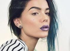 Ombre lips! lindahallberg.com #fotd #makeup