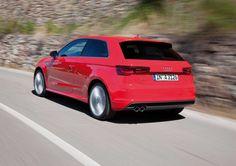 10 Beautiful Audi A3 Red Desktop Wallpaper