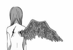 sad and depressive sayings. # at random Random . Anime Angel, Sad Angel, Anime Tumblr, Angel Drawing, Broken Wings, Sad Art, Black And White Drawing, Anime Fantasy, Beautiful Drawings