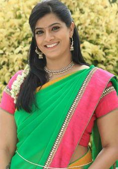 South Actress, South Indian Actress, Indian Actress Gallery, Indian Beauty Saree, Half Saree, Beautiful Saree, Indian Outfits, Indian Actresses, Cute Girls