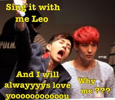 This perfectly describes my sister and I's relationship. Vixx. Vixx Ken. Vixx Leo.