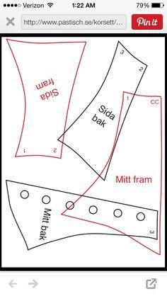 Corset posture collar   http://www.pastisch.se/korsett/DOC/Neckcorset.pdf