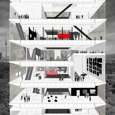Museum of the 20th Century, Clement Blanchet Architecture – BETA