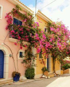 The village of Argostoli in Kefalonia !!