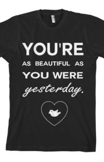 """A SayWeCanFly Tee with lyrics from """"Scars"""" on the front. Comes with a free download of the song. Coziness guaranteed. I want this!!!!"""