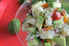 (via Veggie Ceviche With Dill [Vegan Gluten-Free] | One Green... Find more healthy recipes @ standouthealth.com